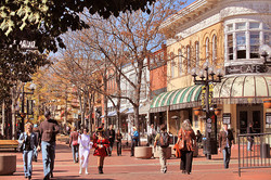 Pearl St People, Autumn Afternoon