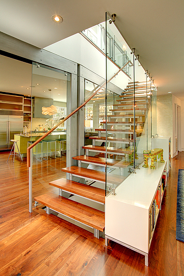 Contemporary Home Interior Entry