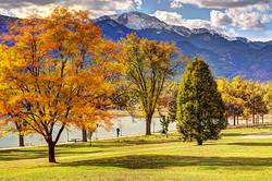 Memorial Park & Pikes Peak, Colorado