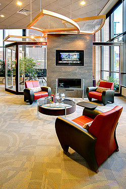 Boutique Bank Lobby Interior 22