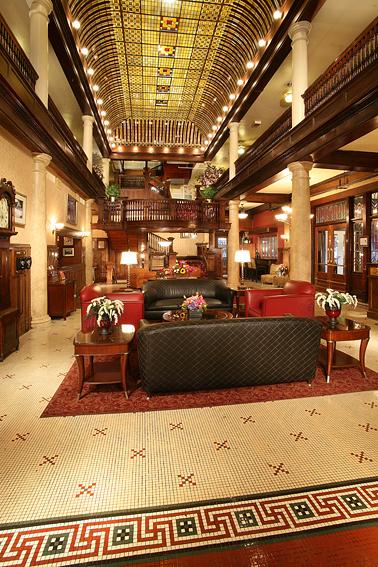 Victorian Hotel Lobby