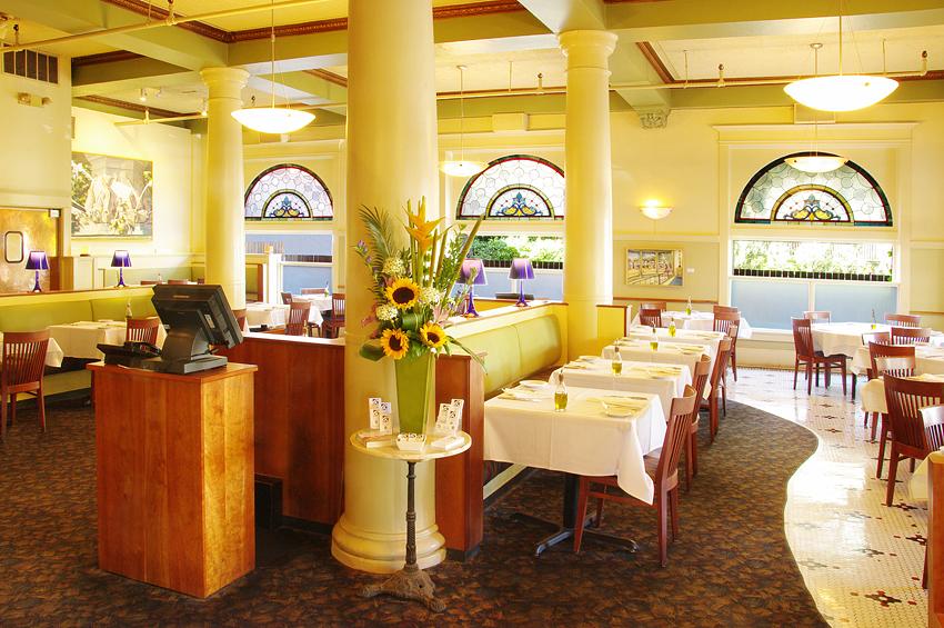 Hotel Restaurant Interior, Day 1