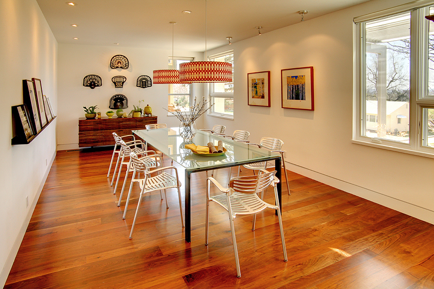 Contemporary Dining Room, Boulder