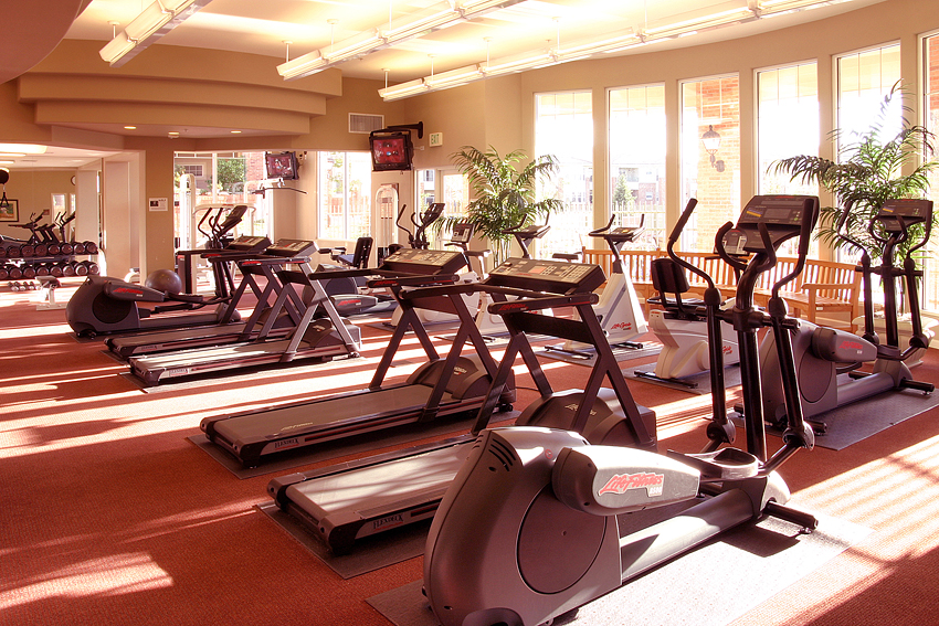 Apartment Fitness Center Interior 1