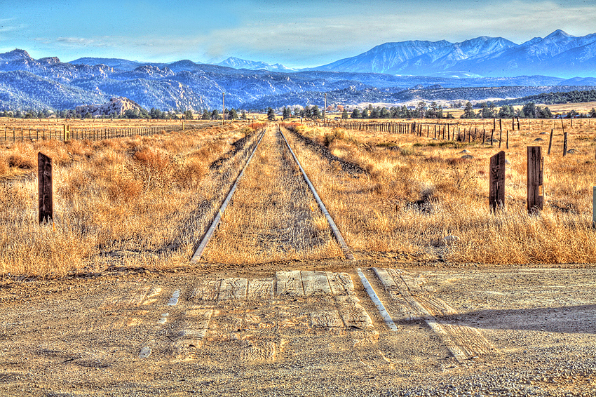 Forgotten RailRoad Tracks, Colorado