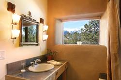 B&B Bathroom with Mtn View