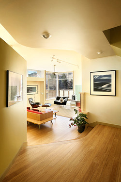 Net Zero Home Living Rm, Boulder