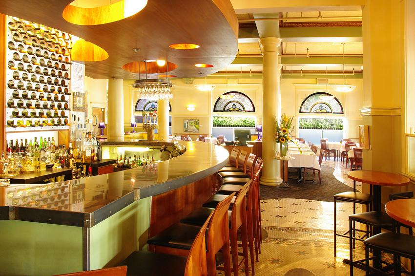 Hotel Restaurant Interior, Day 2