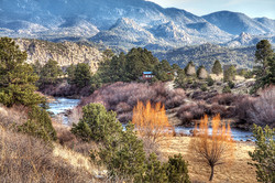 Winding Mountain River Valley & Home