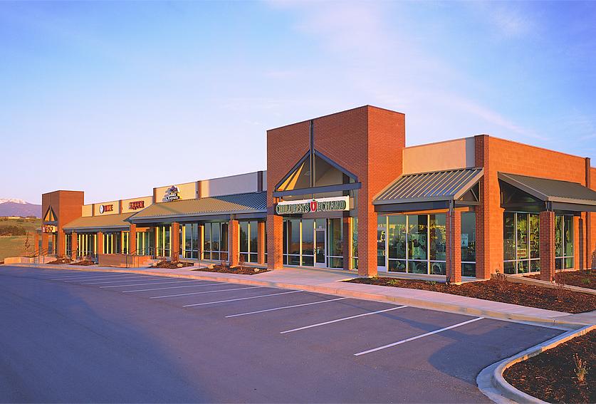 Shopping Center Sunrise Exterior