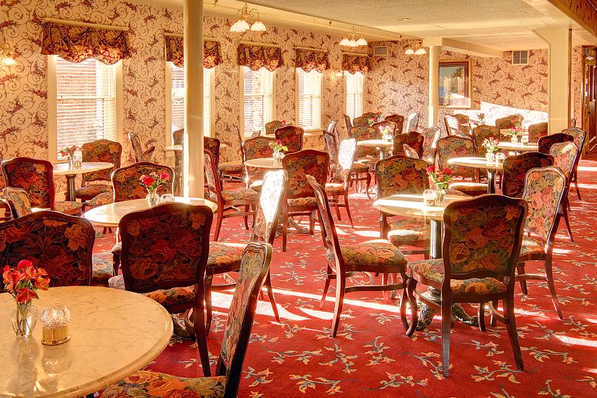 Victorian Hotel Sunlit Mezzanine