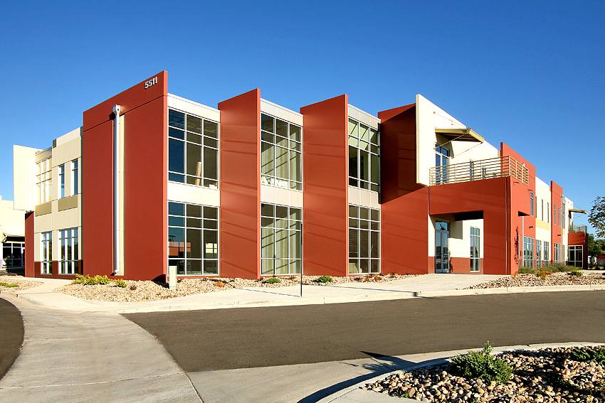 Industrial Building Exterior, Day