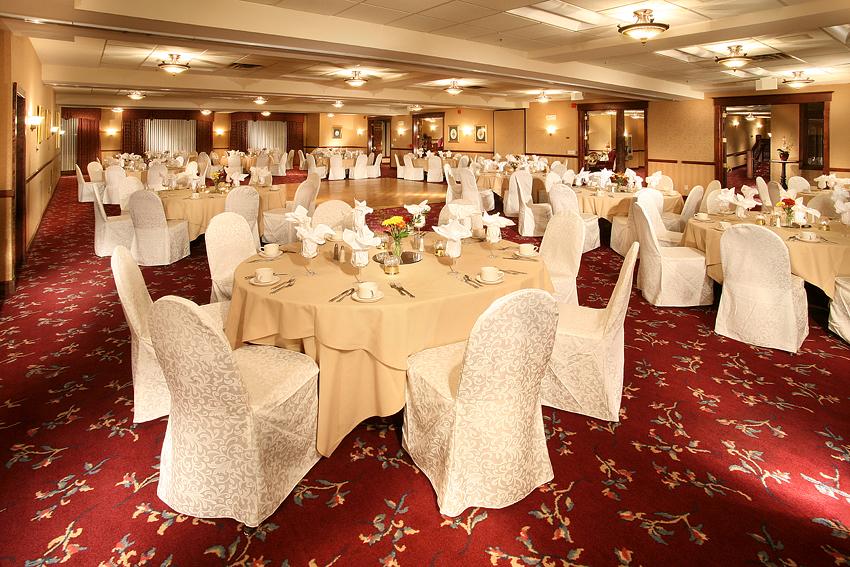 Victorian Hotel BallRoom Reception