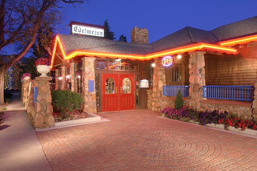 German Restaurant, Colorado Twilight