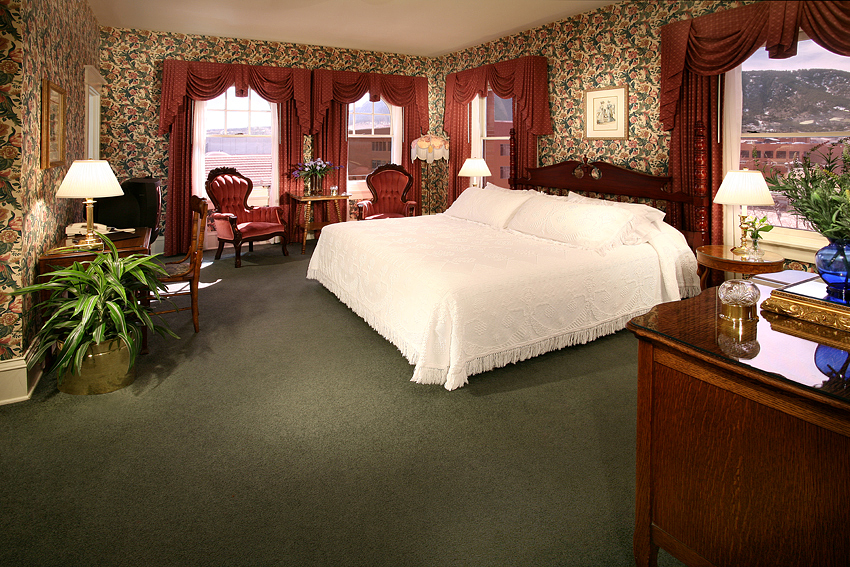 Victorian Hotel Guest Room 1