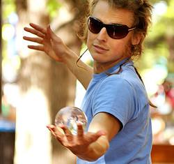 Crystal Ball Juggler 2