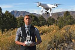 Environmental Portrait, Drone Pilot