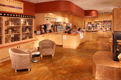 Coffeehouse Interior, Night