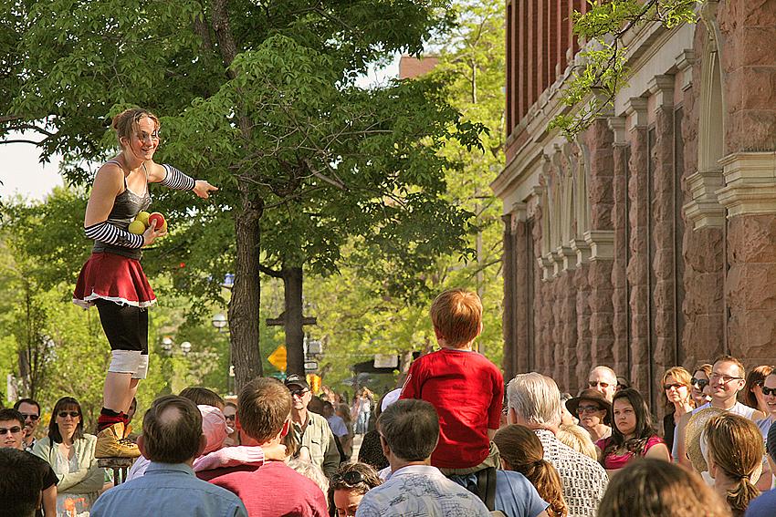Street Act Performer, Boulder