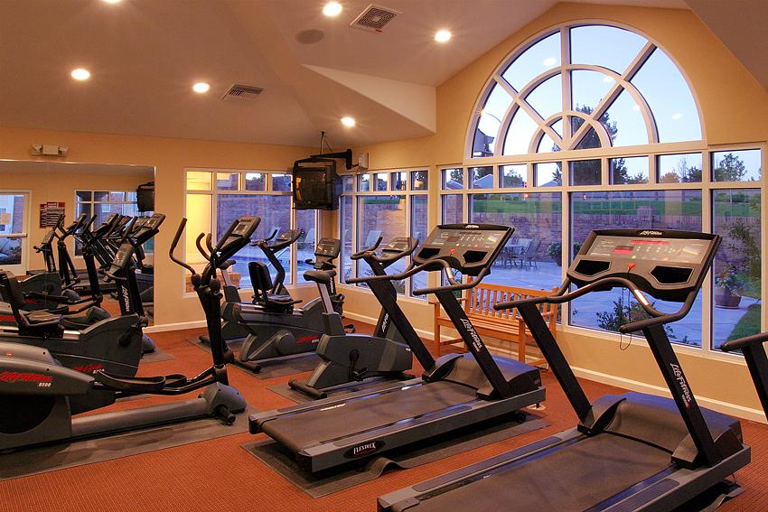 Apartment Gym Interior