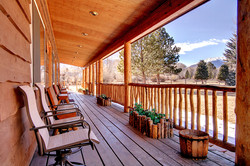 Bed and Breakfast Cabin Porch