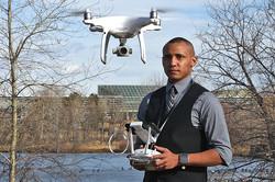Environmental Portrait - Drone Pilot