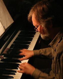 Jazz Pianist Playing Colorado