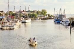 Charleston Shrimpers Headed Home
