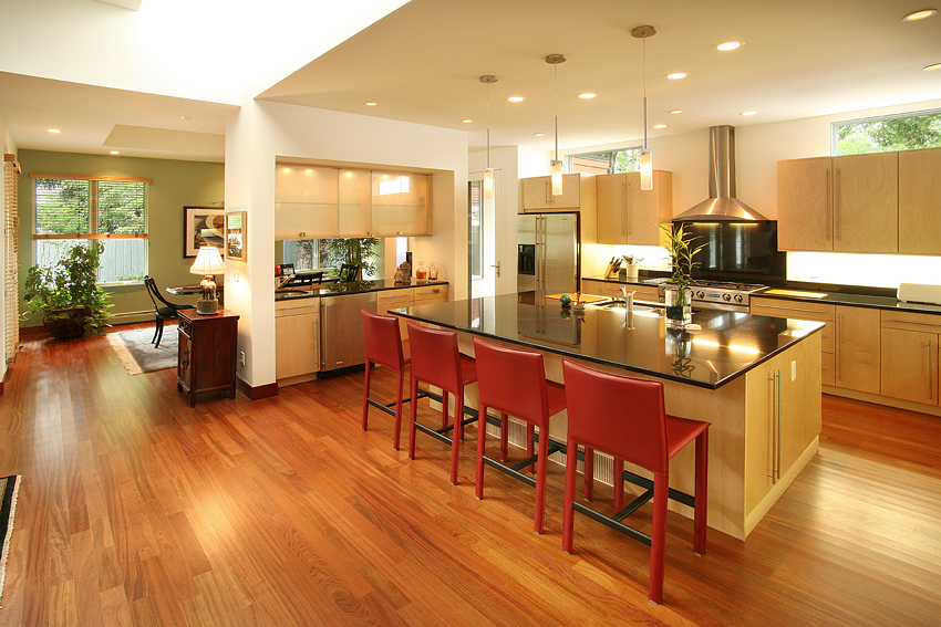 Lloyd Wright Inspired Home, Kitchen