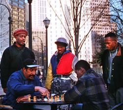 Sunday Chess Game, Atlanta