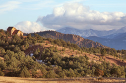 Cozy Mtn Home, Colorado Landscape