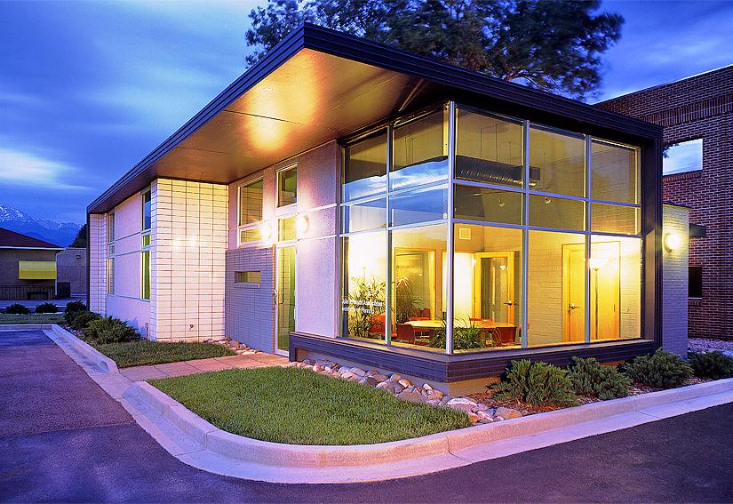 Architect's Office Ext.,Twilight