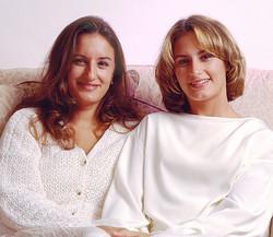 Studio Portrait Mother & Daugter