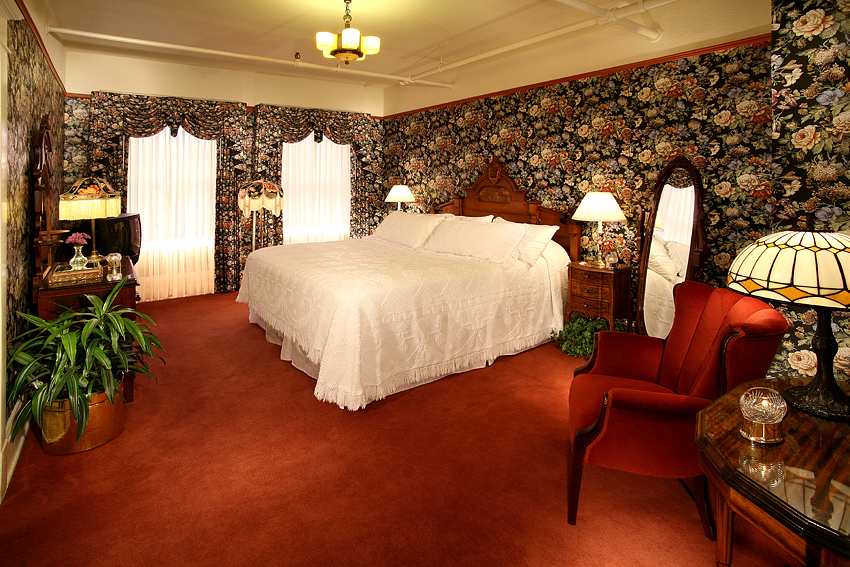 Victorian Hotel Suite Bedroom 1