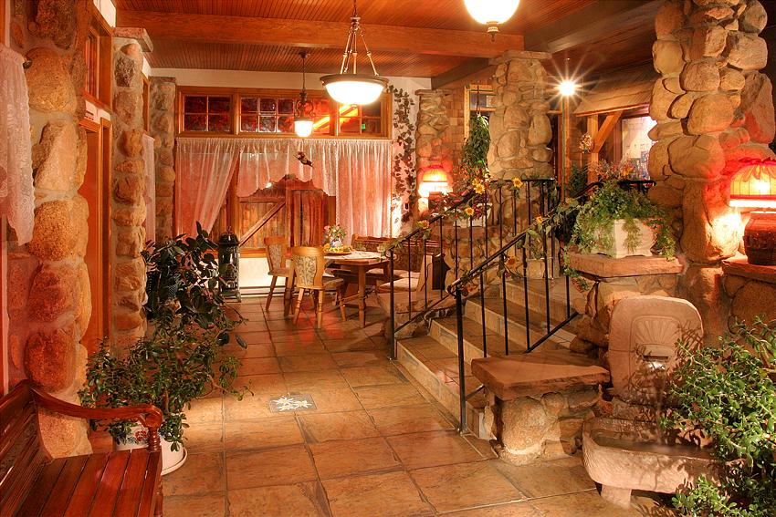 German Restaurant Entry, Colorado