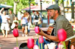 Pearl St Guitarist Boulder, Colorado
