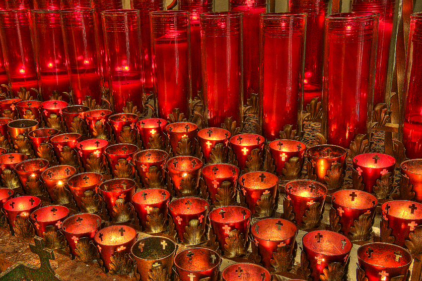 SantaFe Church Prayer Candles