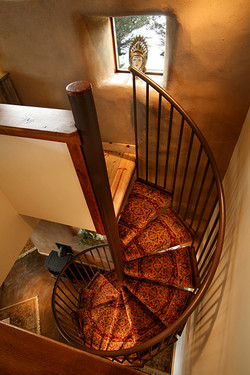 Bed and Breakfast Spiral Staircase