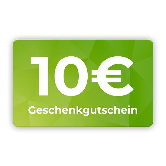10€ Gutschein zum selbst ausdrucken