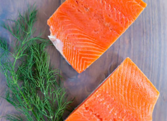 Salmon- Alaskan King 8 oz (10 per)