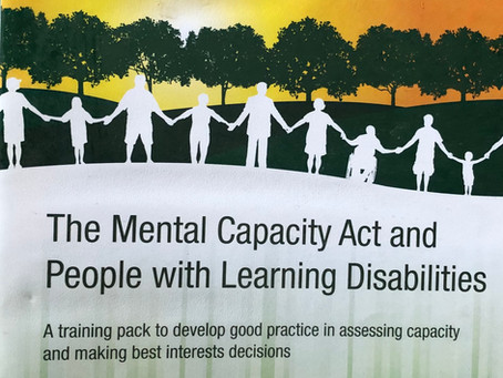 Common misunderstanding of the Mental Capacity Act