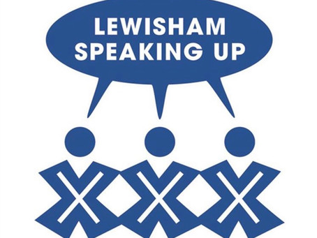 The A-Team meet the Super Stars of Lewisham Speaking Up!