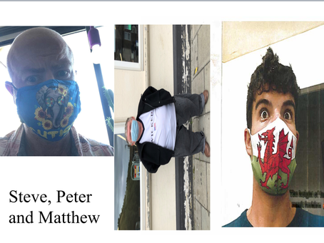 "Some snippets from our book ""Peter & friends experience of covid-19'"