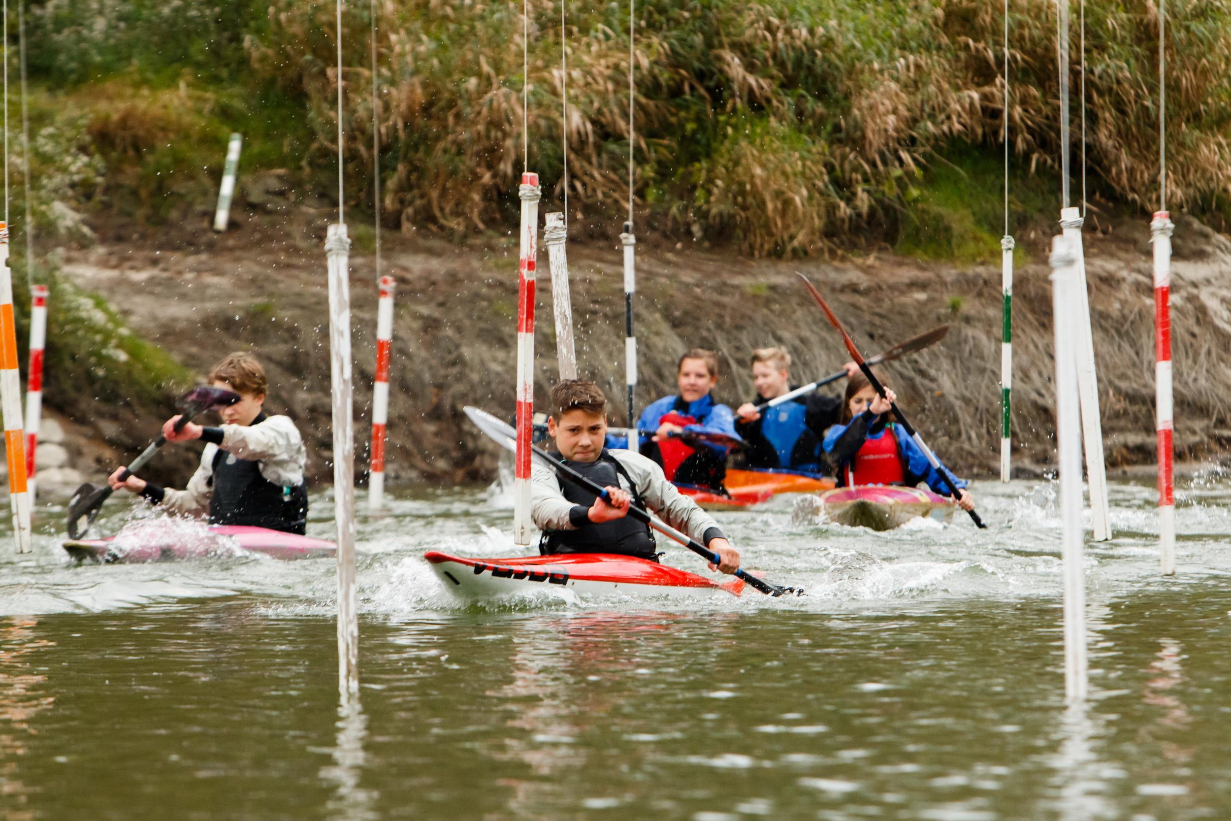 Slalomová trať pre začiatočníkov