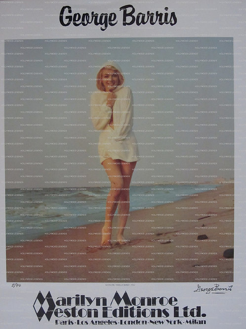"Marilyn Monroe ""Chili Wind"" Poster"