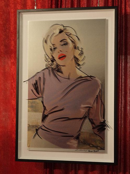 "Marilyn Monroe ""Sunshine"" 2D Art Piece"