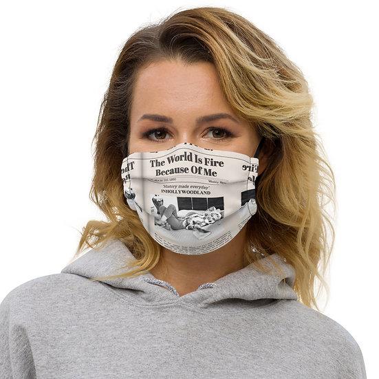 Marilyn Lounging Premium Face Mask