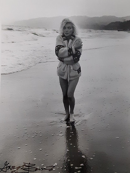 Marilyn Monroe Hold Me By George Barris