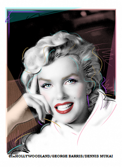 "Marilyn Monroe ""White Robe"" Giclee"
