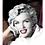 "Thumbnail: Marilyn Monroe ""White Robe"" Giclee"